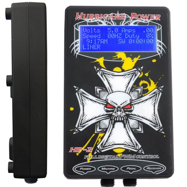 Hurricane tattoo power supply